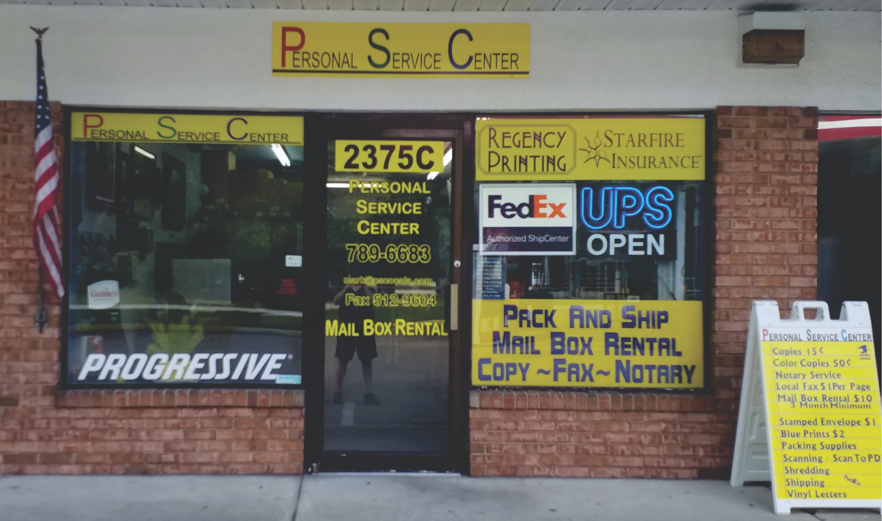 Personal Service Center – Service IS Our Middle Name